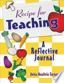Recipe for Teaching