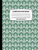 Book College Ruled Composition Book
