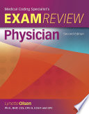 Medical Coding Specialists S Exam Review Physician