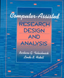 Computer assisted Research Design and Analysis