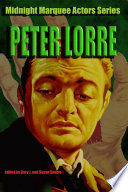 Peter Lorre (Midnight Marquee Actors Series)