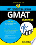 1 001 GMAT Practice Questions For Dummies