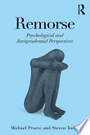 Remorse Emotion This Book One Of The Very