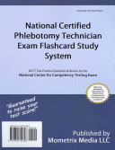 National Certified Phlebotomy Technician Exam Flashcard Study System
