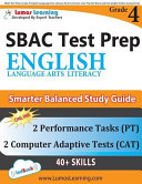 SBAC Test Prep  Grade 4 English Language Arts Literacy  ELA  Common Core Practice Book and Full length Online Assessments