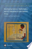 Developing Science Mathematics And Ict Education In Sub Saharan Africa