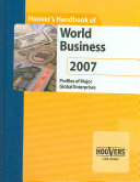 Hoover s Handbook of World Business