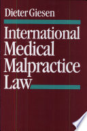 International Medical Malpractice Law