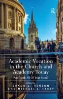 download ebook academic vocation in the church and academy today pdf epub
