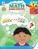 Thinking Kids     Math Analogies  Grade 1