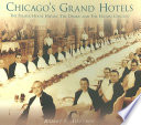 Chicago s Grand Hotels