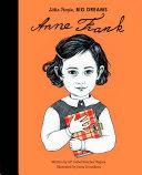 Little People  Big Dreams  Anne Frank