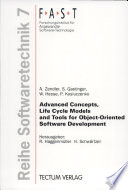 Advanced Concepts Life Cycle Models And Tools For Object Oriented Software Development book
