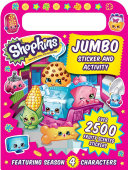 Shopkins Jumbo Sticker and Activity Book With A Carry Handle
