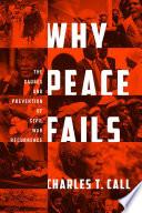 Why Peace Fails book