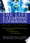 The Live E Learning Cookbook