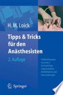 Tipps und Tricks f  r den An  sthesisten
