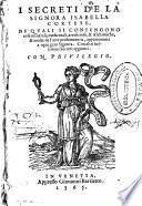 I secreti de la signora Isabella Cortese