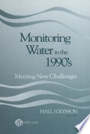 Monitoring Water in the 1990 s