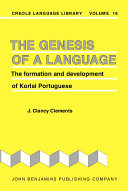 The Genesis of a Language By Linguists Originated Around 1520 On The West