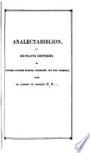 Analectabiblion