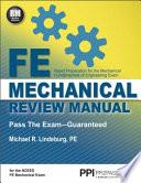 FE Mechanical Review Manual