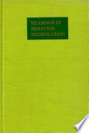 Readings in Behavior Modification