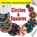 Infinite Coloring Circles and Squares CD and Book