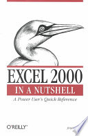 Excel 2000 in a Nutshell