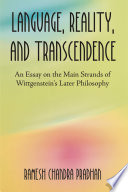 Language Reality And Transcendence