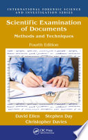 Scientific Examination of Documents