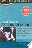 Vault Guide to Schmoozing