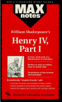 download ebook henry iv, part i (maxnotes literature guides) pdf epub