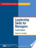 Leadership Skills for Managers  Fourth Edition