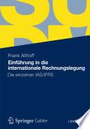 Einführung in die internationale Rechnungslegung