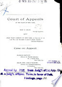 Court of Appeals of the State of New York