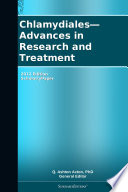 Chlamydiales Advances In Research And Treatment 2012 Edition