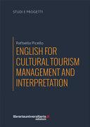 English for Cultural Tourism Management and Interpretation