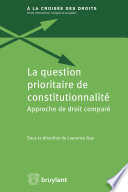 La Question Prioritaire De Constitutionnalit