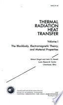 Thermal Radiation Heat Transfer The Blackbody Electromagnetic Theory And Material Properties