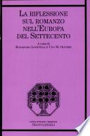La riflessione sul romanzo nell'Europa del Settecento