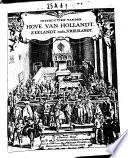 Instructien vanden Hove van Hollandt  Zeelandt  ende Vrieslandt