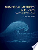 Numerical Methods In Physics With Python