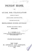 Polyglot Reader  and Guide for Translation  Spanish translation  1870
