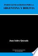 Paseo geneal  gico por la Argentina y Bolivia