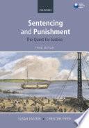 Sentencing and Punishment