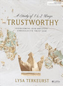 Book Trustworthy   Bible Study Book