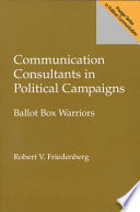 Communication Consultants in Political Campaigns
