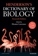 Henderson s Dictionary of Biology