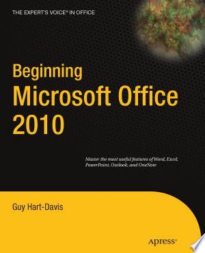 Beginning Microsoft Office 2010 - ISBN:9781430229490
